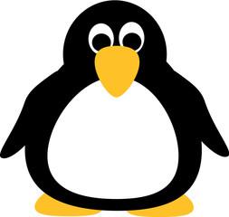 Fat cartoon Penguin