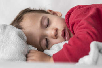 Little boy taking a nap 2