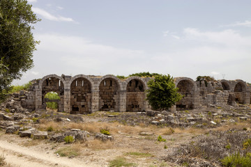 Roman ruins in Perges, Turkey