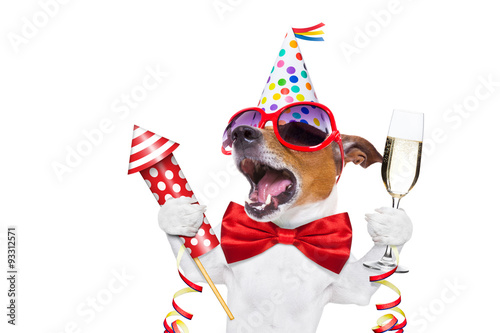 Happy Birthday Dog Stockfotos Und Lizenzfreie Bilder Auf Fotolia