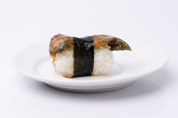 sushi isolated on a white background