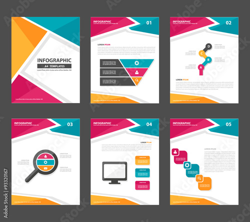 colorful multipurpose infographic elements and icon presentation, Presentation templates
