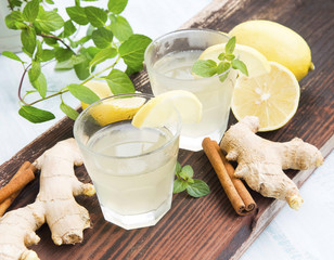 Ginger and Lemon Drinks
