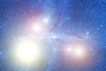 Milky way stars.