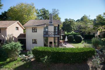 A very nice house with a garden