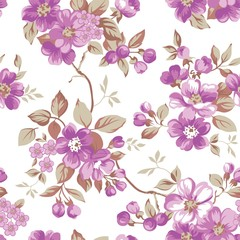 Clair Floral Seamless Pattern