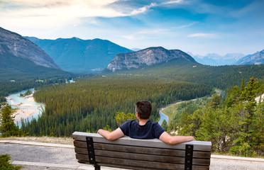 Blick über den Banff National Park