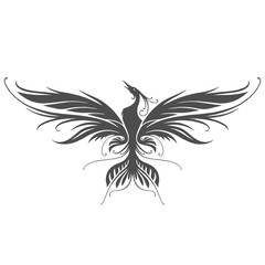 Phoenix silhouette