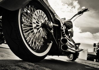 Motorcycle Wall mural