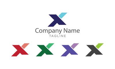 X Lettermark Vector Logo Business Concept