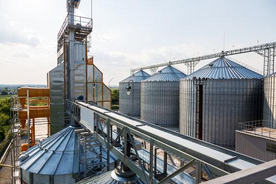 Grain elevator in rural zone