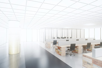 Project of future open space office