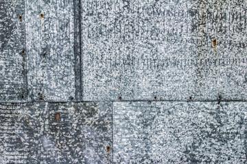 Metal background.Galvanized grunge metal texture