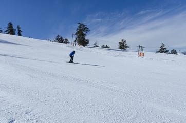 ski snow winter, downhill, Vasilitsa Greece