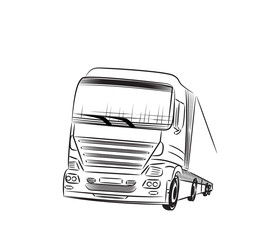 Truck Sketch.