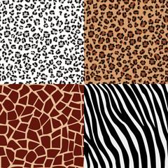 Set of fur patterns