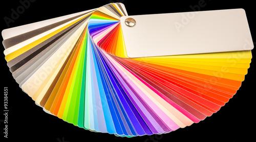nuancier couleurs peinture fond noir photo libre de droits sur la banque d 39 images. Black Bedroom Furniture Sets. Home Design Ideas