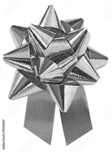 étoile Argentée Sur Fond Blanc Stock Photo And Royalty Free Images
