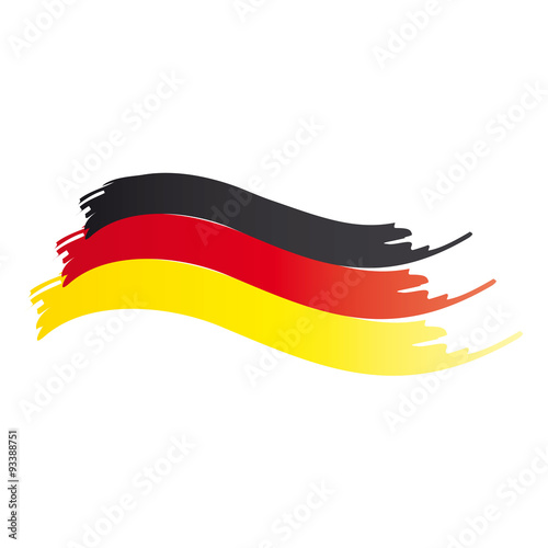schwarz rot gold l nderkennung der bundesrepublik deutschland deutsche fahne flagge. Black Bedroom Furniture Sets. Home Design Ideas