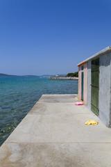 Beach cabin in Croatia