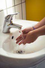 Hände waschen