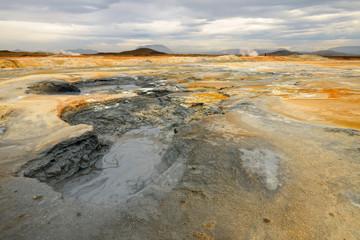 Iceland Namaskard Hot Mud