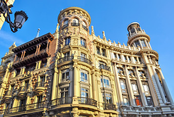 historic building in Madrid