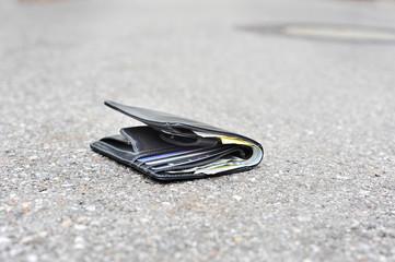 Geldbeutel verlieren