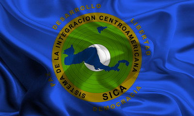 Flag of Central American Integration System
