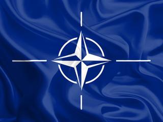 Flag of North Atlantic Treaty Organization (NATO)