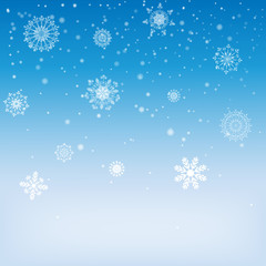 background-with-snowflakes