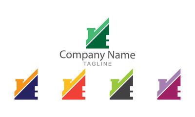 Cabin Property Element Logo Vector Business Concept
