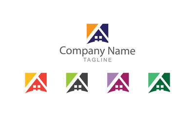 Property Logo Element Business Concept