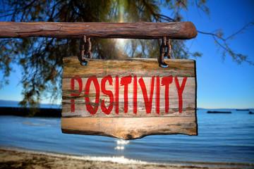 Positivity sign