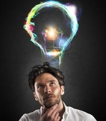 Fototapete - Bright idea