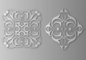 İki farklı kare motif