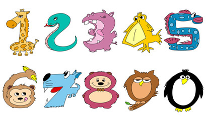 Friendly animal numbers