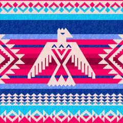Navajo motifs ethnic pattern