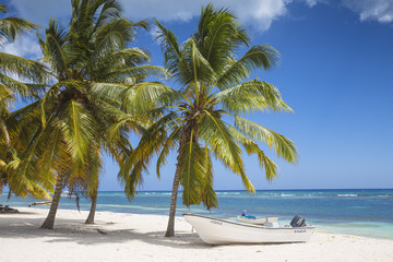 Mano Juan, a picturesque fishing village, Saona Island, Parque Nacional del Este, Punta Cana, Dominican Republic, West Indies, Caribbean, Central America