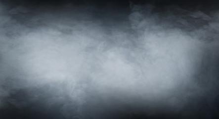 Garden Poster Smoke Smoke texture over blank black background