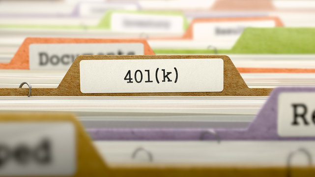 Folder in Catalog Marked as 401K.