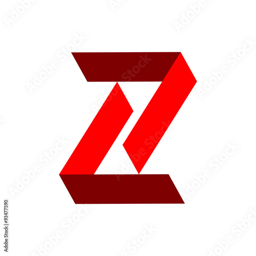 """Initial Z Elbow 3D Logo"""" Stock image and royalty-free vector files ..."""