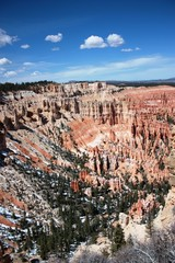 The Bryce Amphitheater area at Bryce Canyon National Park, Utah