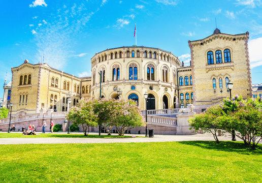 Storting Parliament supreme legislature of Norway