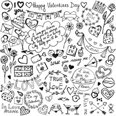 Sketch Saint Valentine's Day