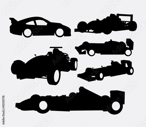 0ebe8eac4b6 Race car and transportation silhouettes. Good use for symbol, logo, web  icon, mascot, or any design you want. Easy to use.