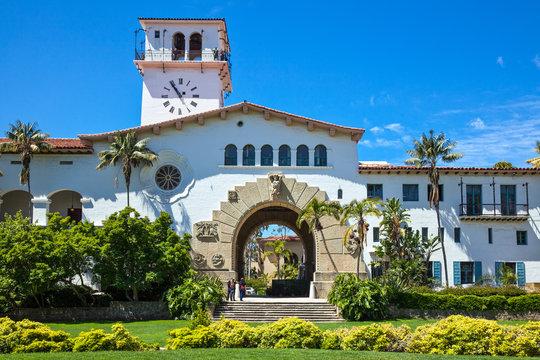 U.S.A., California, Santa Barbara, the Court House