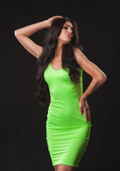 9abf4d8f2a9 Beautiful petite Eurasian woman in revealing black lingerie - Buy ...