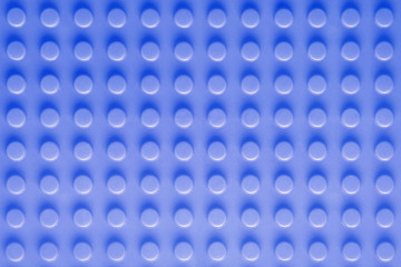Blue toy construction background