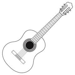 Classic Acoustic Guitar.